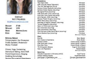 Talent Resume